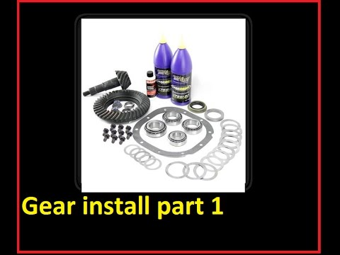 Ford 88 Inch Gear Install Part 1 Of 7 How To Install Gears Ring
