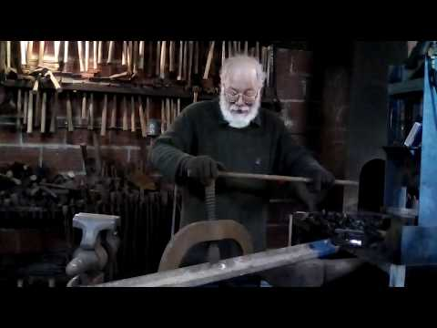 Blacksmith's Dictionary Track Bending Tool, Or How To Bend Rail For Your Coal Mine Or Trolley