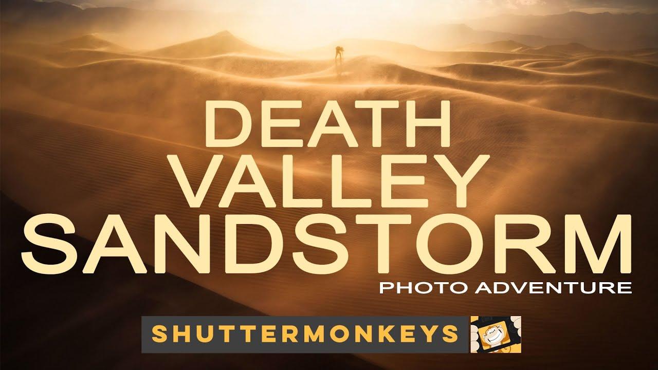Death Valley Dunes Sandstorm Photo Adventure