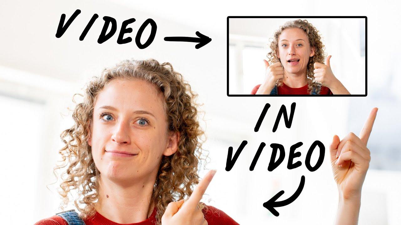 Een video IN je video laten zien   Effecten monteren   de Videomakers