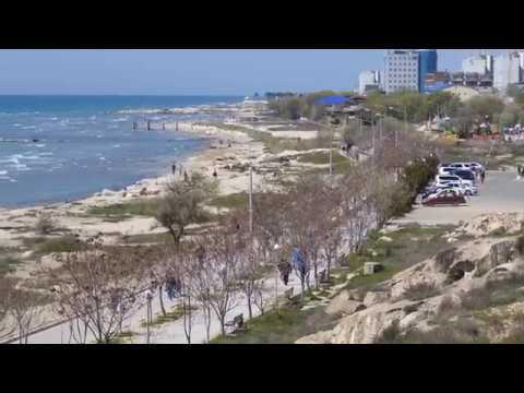 Берег моря. Актау, весна 2019 год