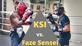 KSI vs  Faze Sensei  FULL LEGENDARY SPARRING SESSION!!! (Faze gets dropped)