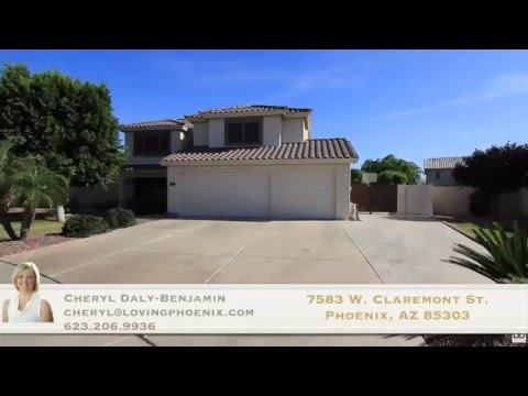 7583 W Claremont St, Glendale, AZ 85303 | Cobblefield Homes for Sale