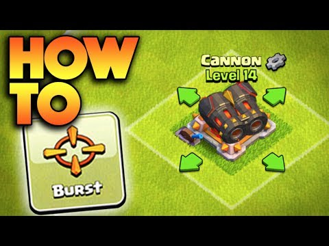 """HOW TO GET A DOUBLE CANNON IN CLASH OF CLANS! NEW UPDATE """"GEAR UP"""" FEATURE!"""