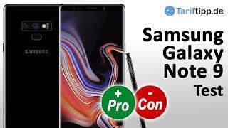 Samsung Galaxy Note 9 | Test deutsch