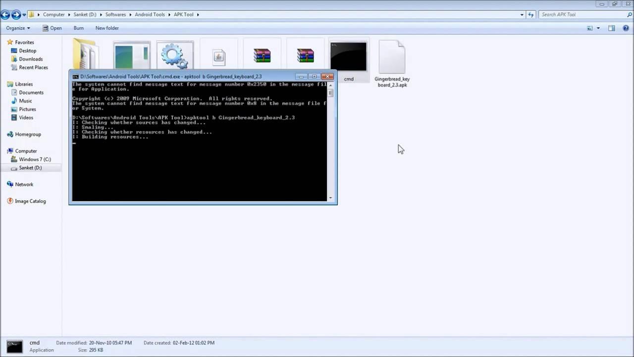 Using apktool xdating