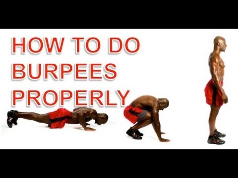 Burpees - How To Do Burpees And Avoid Common Injuries