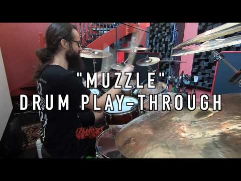 Benighted - Kevin Paradis playing 'Muzzle' (official drum play-through video)