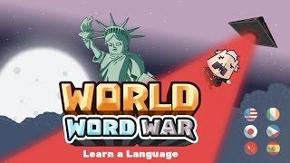 World Word War: Learn a Language Game Trailer