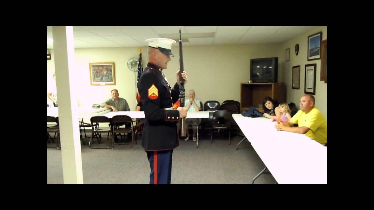 Dad&39;s M1 Garand Presentation   YouTube