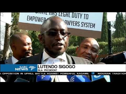 Black Lawyers Association becry unfair distribution of state legal services