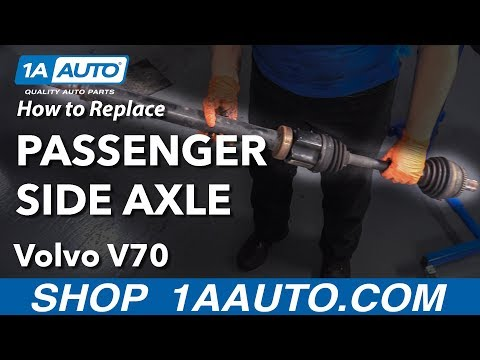 How to Replace Passenger Side Axle 00-07 Volvo V70