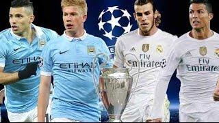 Manchester City VS Real Madrid 0-0 : HighLight UEFA League 2016