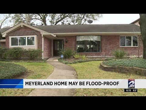 Meyerland home flood-proof, man claims