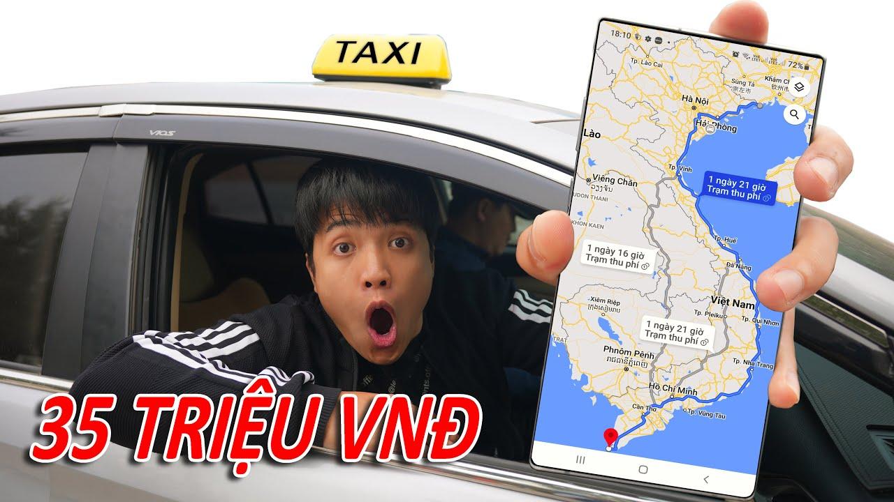 NTN - Thử Thách Đi Taxi 5.000 KM Từ Bắc Vào Nam (Taking Taxi 5.000 KM)