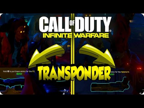 Zombies In Spaceland Glitches: Unlimited M1 & hailstorm Ammo With Transponder - Infinite Warfare