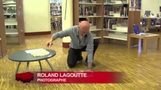 Roland Lagoutte expose ses photogrammes grand format