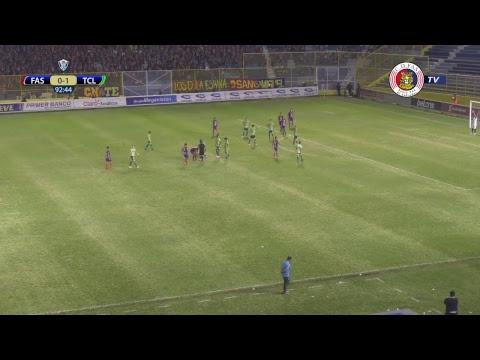 #CopaElSalvador Final | FAS vs Santa Tecla F.C.