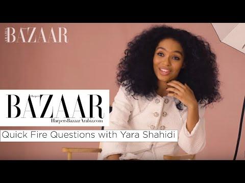 Yara Shahidi: Quick Fire Questions | Harper's Bazaar Arabia
