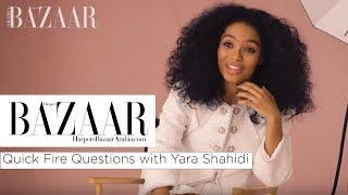 Baixar Yara Shahidi: Quick Fire Questions | Harper's Bazaar Arabia