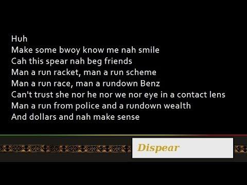 Nas & Damian Marley - Dispear [Lyrics]