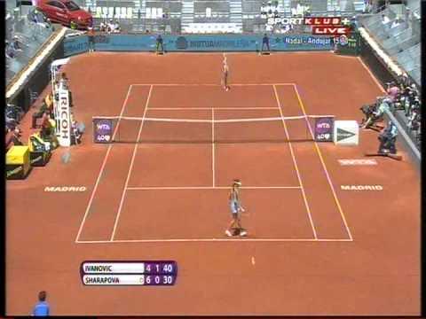 Maria Sharapova vs Ana Ivanovic - WTA Madrid 2013. Highlights (bojan svitac)