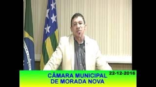 José Vanderley Pronunciamento 22 12 16