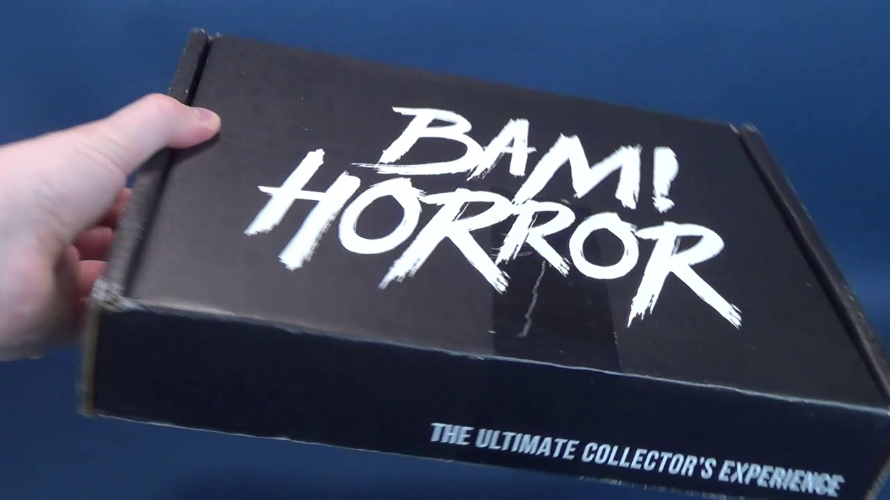 What's inside the Bam! Horror Box Volume 5 Box #5 Subscription Box? | Video Unboxing