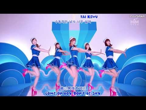 Popu Lady - Love Bomb MV English Subs Karaoke Hangul Pinyin 1080p