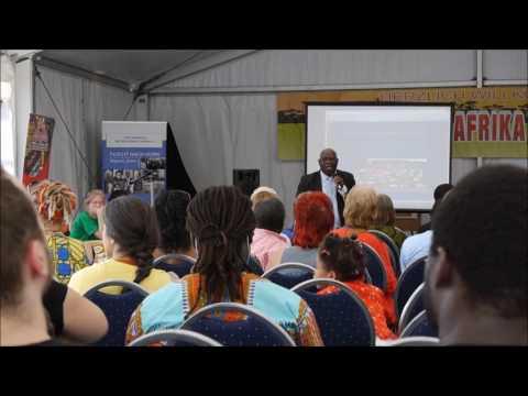 Conférence sur Le Franc Cfa avec le Prof. Nicolas Agbohou à Berlin Juin 2017