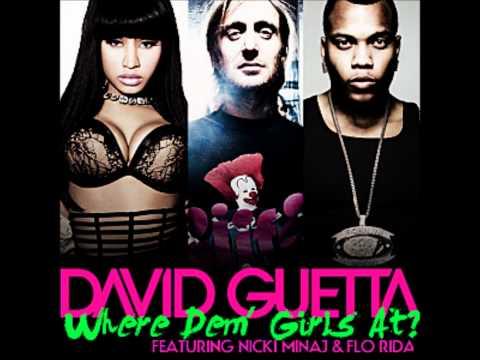 David Guetta feat. Nicki Minaj & Flo Rida - Where Them Girls At (Original Leaked Clean Version)