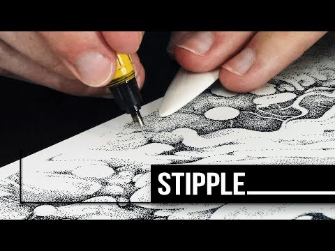 Dots For Days ... Intricate Stippling Art ✍