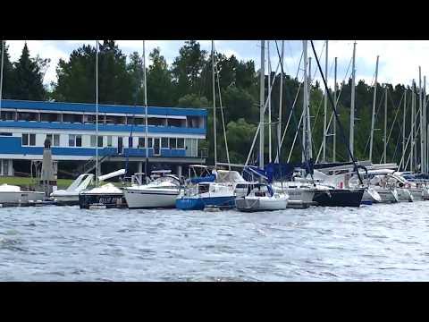 weekend in Slapy nad Vltavou - boat trip