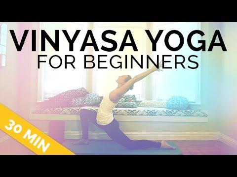 Vinyasa Yoga For Beginners 30 Mins