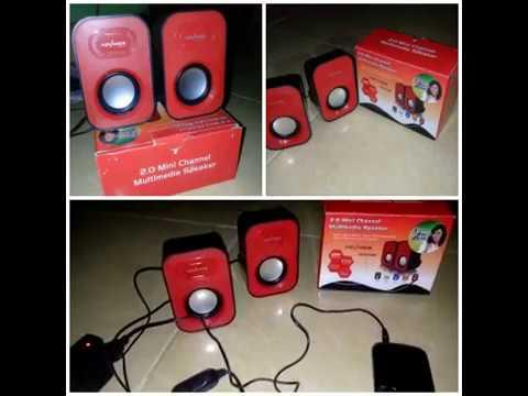 2.0 Mini Channel Multimedia Speaker