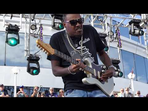 Eric Gales - Somebody/Smokestack Lightining - Sail Away Show - KTBA Cruise 2019