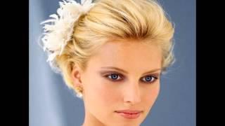 видео Свадебные прически на короткие волосы фото 2013