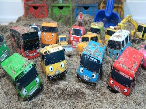 Thumbnail: Tayo the Little Bus with Friends Sand Rescue Mission / Colors Learn