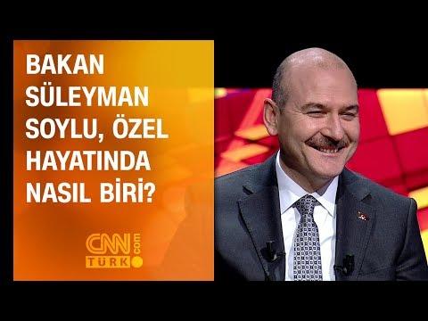 Bakan Süleyman Soylu, özel hayatında...