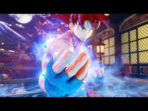 Street Fighter 5 - Goku Becomes A Super Saiyan God | PC Mods Gameplay @ 1440p (60ᶠᵖˢ) ᴴᴰ ✔