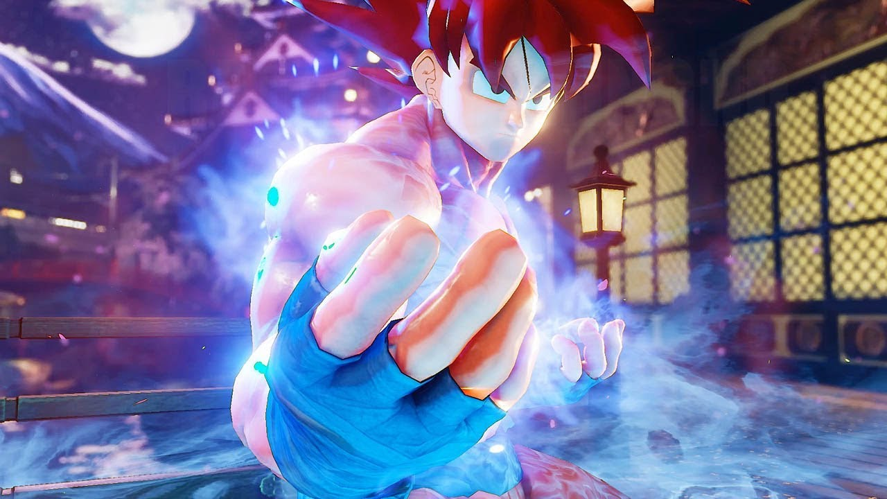 Street Fighter 5 - Goku becomes a Super Saiyan God | PC ...