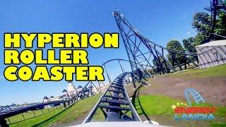 Hyperion Roller Coaster Front Seat POV Energylandia NEW 2018