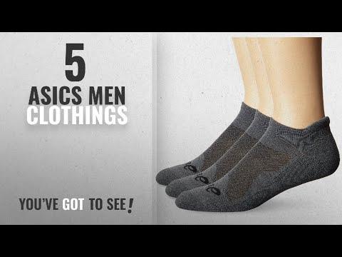 Top 10 Asics Men Clothings [ Winter 2018 ]: ASICS Cushion Low Cut Socks (Pack of 3), Grey Heather,