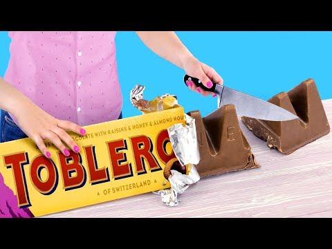 Огромные и миниатюрные сладости – 8 идей