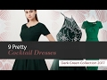 9 Pretty Cocktail Dresses Dark Green Collection 2017