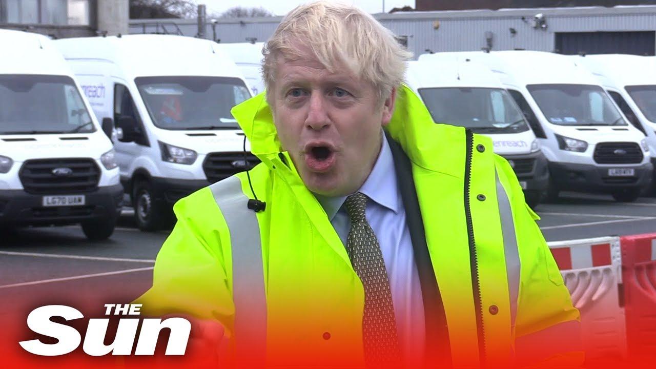 "Download ""I DO BRUSH IT"" Boris Johnson apologises for his messy hair"