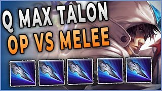 This Q Max Talon Strat Wins Every Melee Matchup
