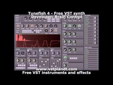 Tunefish 4 – Free VST synth – vstplanet com