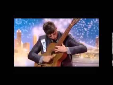 Tom Ward  Australian got talent  full audition  Shred Classical Guitar