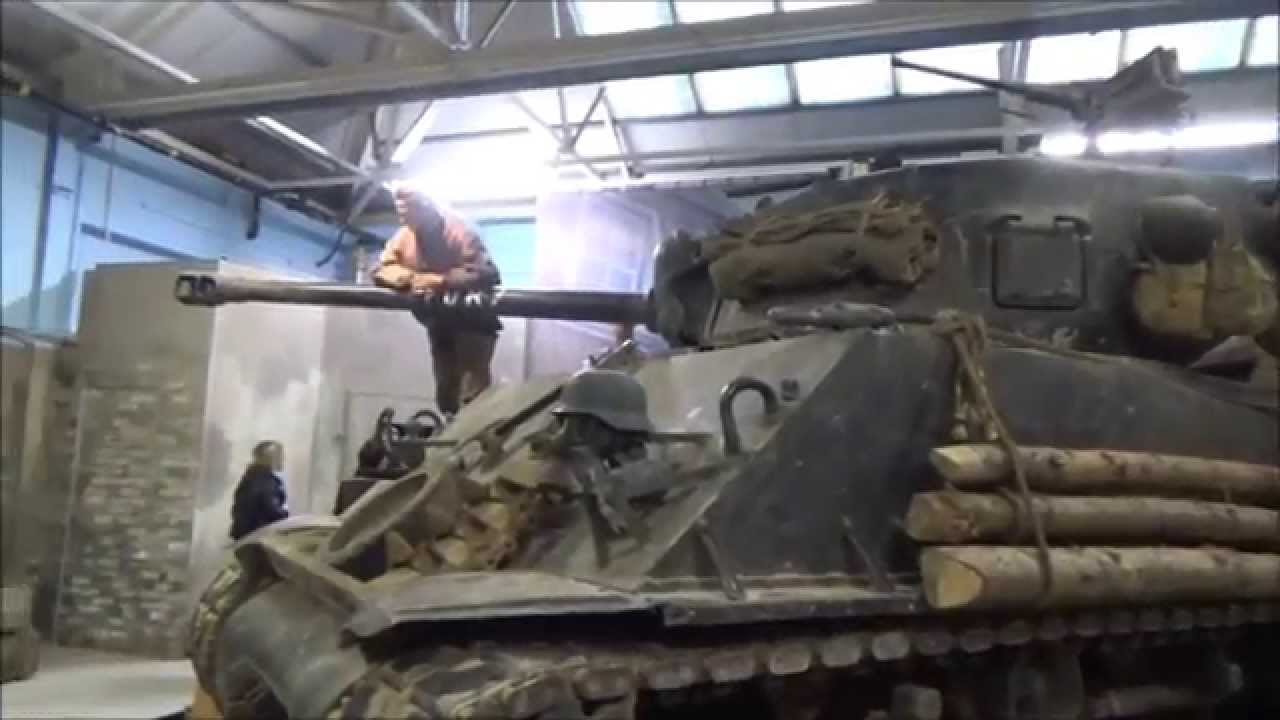 M4 Sherman Tank, From The Film 'Fury'